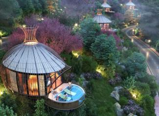 Sakana Resort Hoà Bình - Khu nghỉ dưỡng tổ chim sang chảnh có 1-0-2