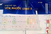 Bán lô góc đường lớn A3 đối diện công viên, VCN Phước Long 2, Nha Trang