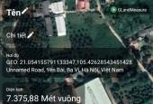 Chủ gửi bán  lô đất 12.5ty làm việc trực tiếp DT 7628m đất tặng xưởng kiên cố trị giá 2 tỷ tại Yên Bài, Ba Vì, Hà Nội