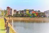 Bán lô đất 112m hồ Hoàng Ngân,p Phan Đình Phùng,tp Thái Nguyên.Xây nhà cực đẹp
