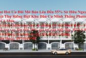Hot Hot Ưu Đãi Mở Bán Lên Đến 55% Sở Hữu Ngay Biệt Thự Riêng Biệt Khu Dân Cư Minh Thắng Cà Mau