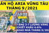 Chiết Khấu 500 Triệu Căn 3PN-160m2, View Biển, Tầng Cao, Giá 5.1 tỷ, Có Nội Thất Aria Vũng Tàu
