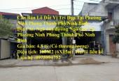 Cần Bán Lô Đất Vị Trí Đẹp Tại Phường Ninh Phong Thành Phố Ninh Bình