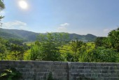 Bán đất Lương Sơn dt 892m có 400 thổ cư tường bao kiên cố view cao thoáng phù hợp làm căn nhà nhỏ vườn rau