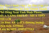 Hot Hot Chính Chủ Cần Bán Gấp Lô Đất Vị Trí Đẹp Xã Tân Thành Thành Phố Đồng Xoài Tỉnh Bình Phước