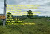 Chính Chủ Cần Bán Lô Đất Đẹp Vị Trí Đắc Địa Tại Huyện Hàm Thuận Bắc, Tỉnh Bình Thuận