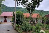 Khuôn viên nghỉ dưỡng sẵn ở 4720m2 có ao cách đường 446 300m tại khu vực Hòa Lạc cần tìm chủ mới